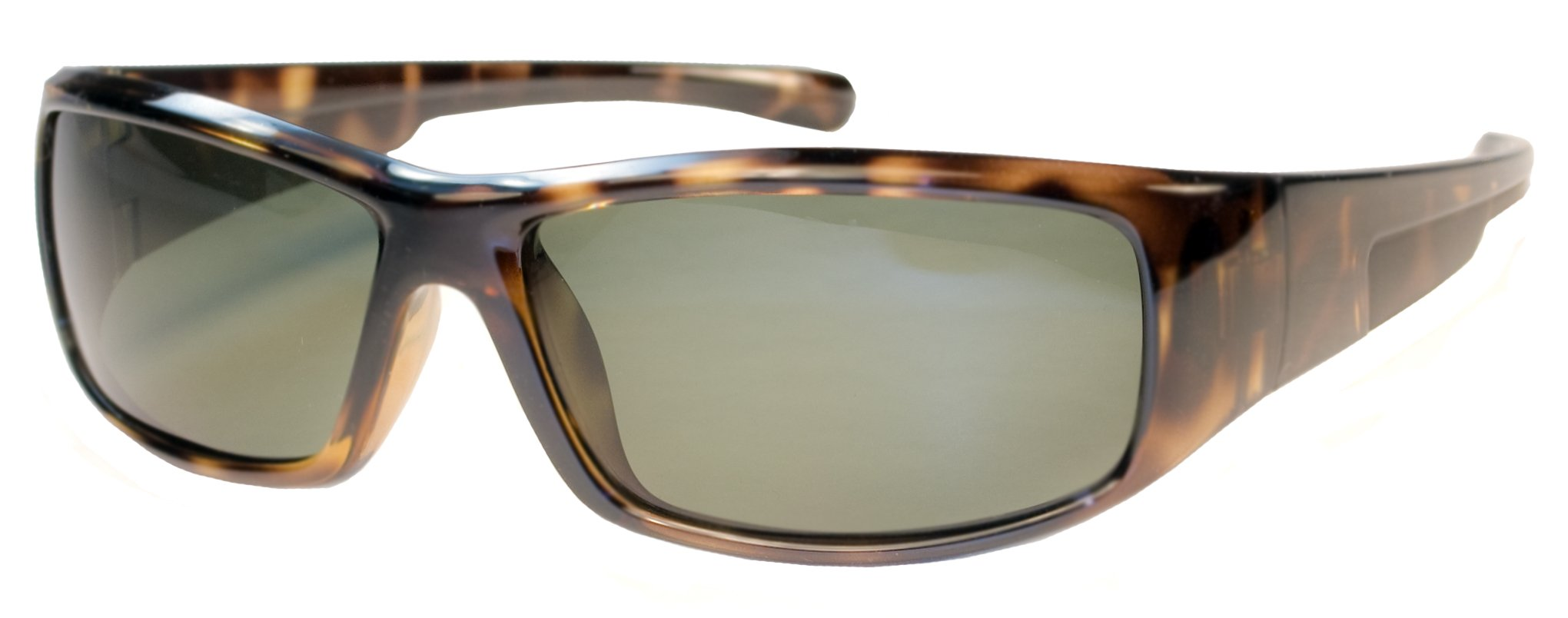 Kids Polarized Sunglasses for Age 6-12 JR65PL (Tortoise & Smoke)