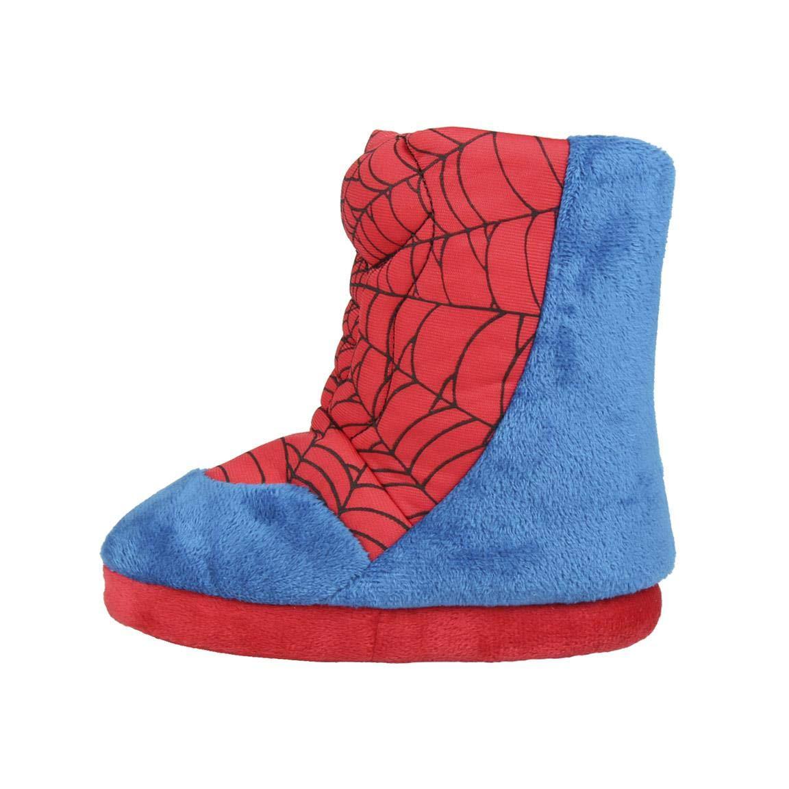 Supereroi Marvel Avengers Pantofole a Stivale Premium Scarpe da Casa DC Comics Justice League Imbottite Bambino Bambina Prodotto Originale 23-23XX