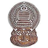 Shrinath Handicrafts Kathakali Dancer WOODEN CARVED PRINTING BLOCK TEXTILE PRINTING HENNA BLOCK