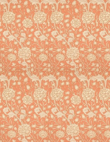 (Wild tulip, William Morris.  Ruled journal: 150 lined / ruled pages, 8,5x11 inch (21.59 x 27.94 cm) Soft cover / paperback)