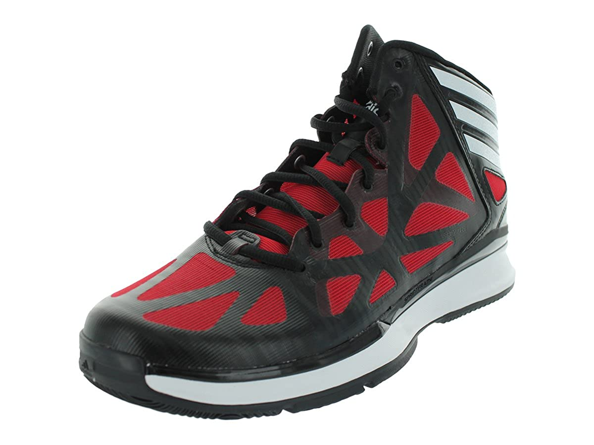 more photos 2c0a2 c7d45 Adidas Men s Crazy Shadow 2 Black1 Runwht Lgtsca Basketball Shoes 11 M US   Amazon.ca  Shoes   Handbags