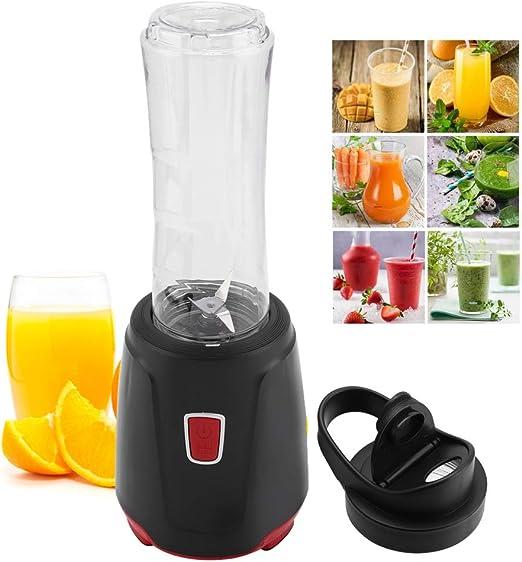 Cocoarm Mini licuadora portátil 600 ml, licuadora eléctrica para Batidos, zumos, Batidos de Leche, Viajes, casa, Deporte, Enchufe de la UE 220 V: Amazon.es