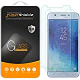 (2 Pack) Supershieldz for Samsung (Galaxy J7 Star) Tempered Glass Screen Protector, Anti Scratch, Bubble Free