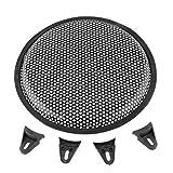 Sedeta® 10 Inch Universal Metal Car Audio Speaker SubWoofer Grill Protector Cover