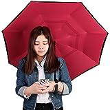 Innovador nueva Reverse paraguas, doble capa paraguas invertido, mysj Creative Coches Reverse paraguas recto