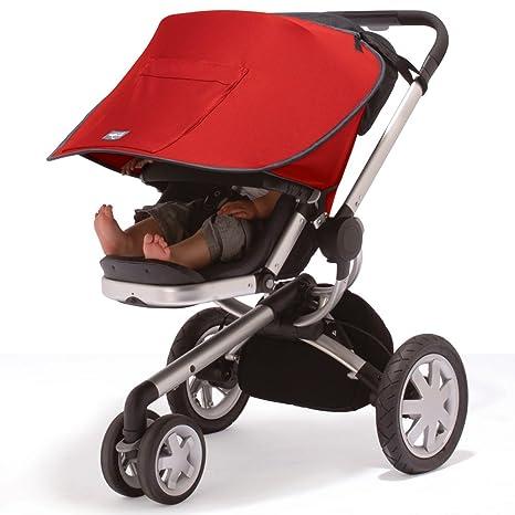 Outlook - Capota solar para carrito, color rojo