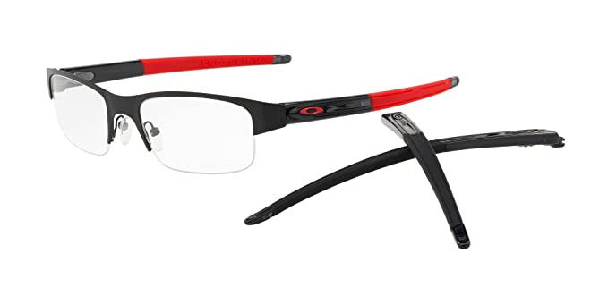 7076c05c9caff Image Unavailable. Image not available for. Color  OAKLEY OX3226 - 322601  CROSSLINK 0.5 Eyeglasses 55mm