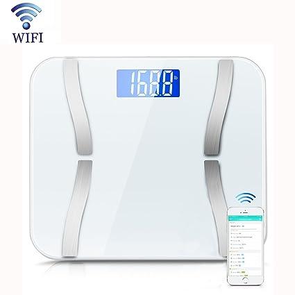 Grasa corporal escala y # xFF0 C; flightinglive peso corporal Báscula de baño digital de