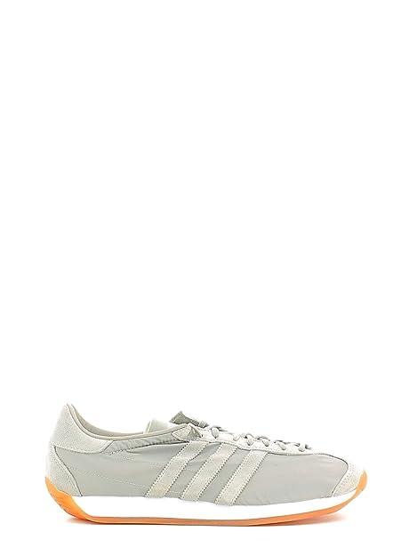 online store 24ea5 2ce5f Adidas - Zapatillas de Lona para Hombre Blanco y Verde, Color Gris, Talla  40 EU Amazon.es Zapatos y complementos