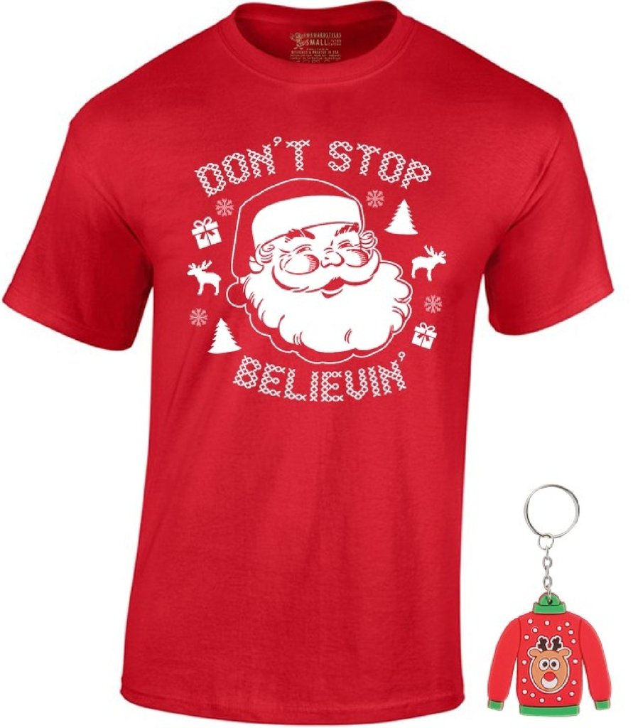 605a3fc4af2 awkward styles awkwardstyles dont stop believin t shirt xmas shirt ugly  sweater