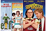 Will Ferrell Collection - Superstar & Elf / Semi-Pro Double Feature 3-Movie Bundle