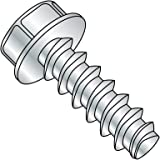 Rounded Head Thread-Forming Screw for Brittle Plastic Thread Size #6-19 FastenerParts Steel