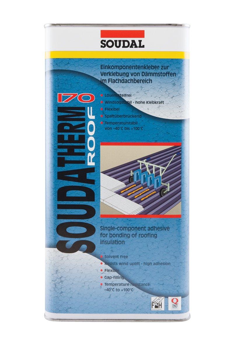 Soudal soudat - 170, para pegar materiales aislantes de techo Soporte de inclinación y techo Beige (varios tamaños disponibles): Amazon.es: Bricolaje y ...
