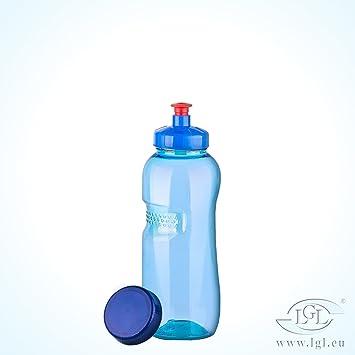 Trinkflasche 0,5 l Wasserflasche aus Tritan (Bisphenol A frei) + ...