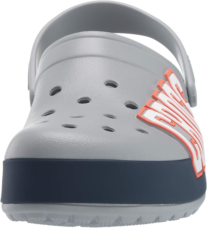 Crocs Crocband Clogs Light Grey//Navy