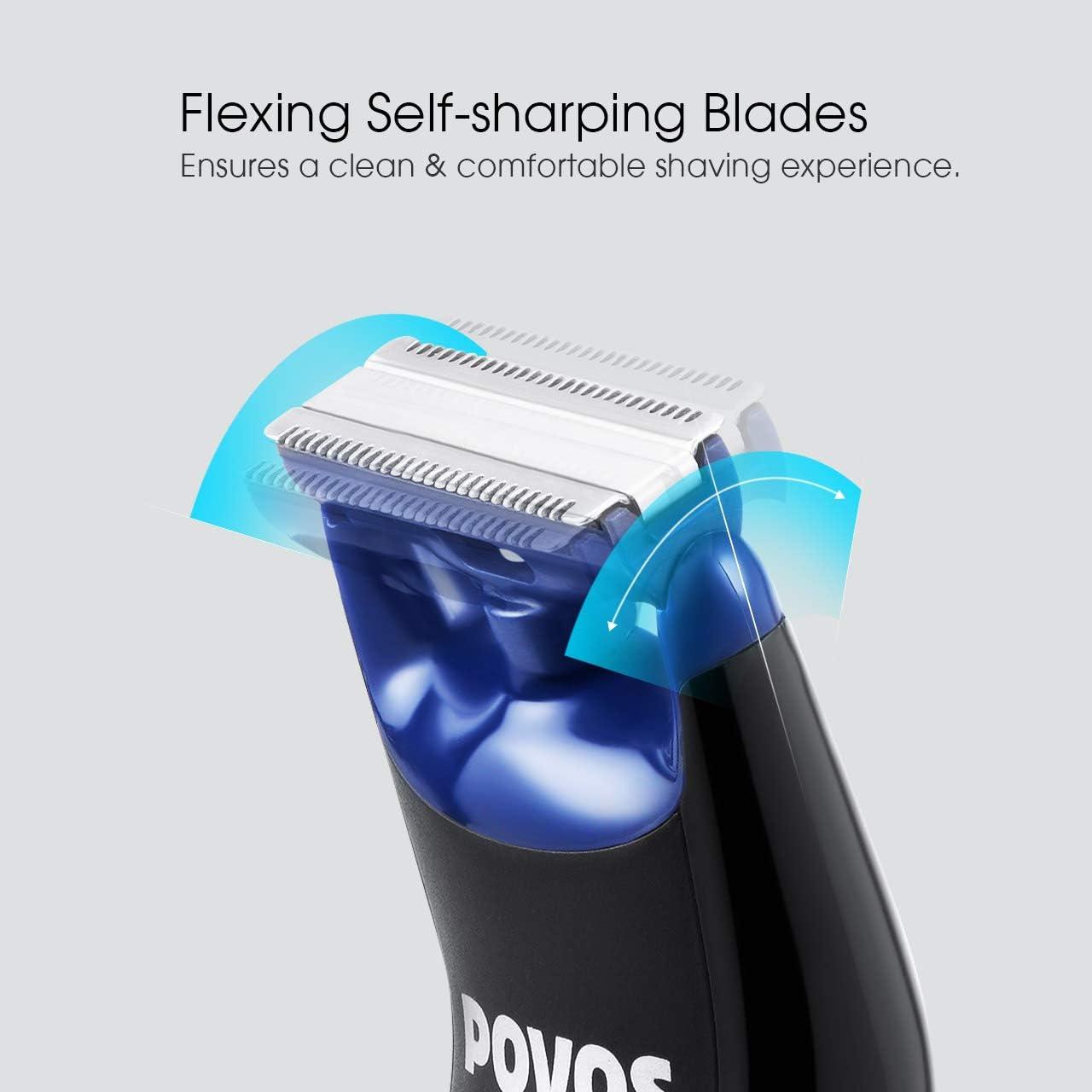 Povos Body Trimer One Blade recortador de barba bidireccional ...