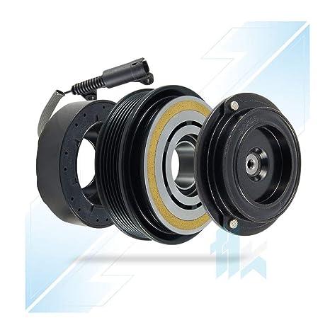 climática Compresor magnético Juego de embrague apto para Denso 7sbu16 C 6pk (PV6) 120