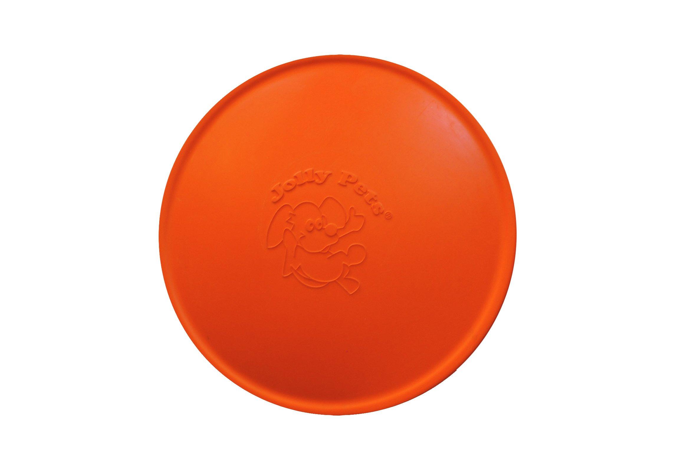 Jolly Pets 9.5-Inch Jolly Flyer, Orange