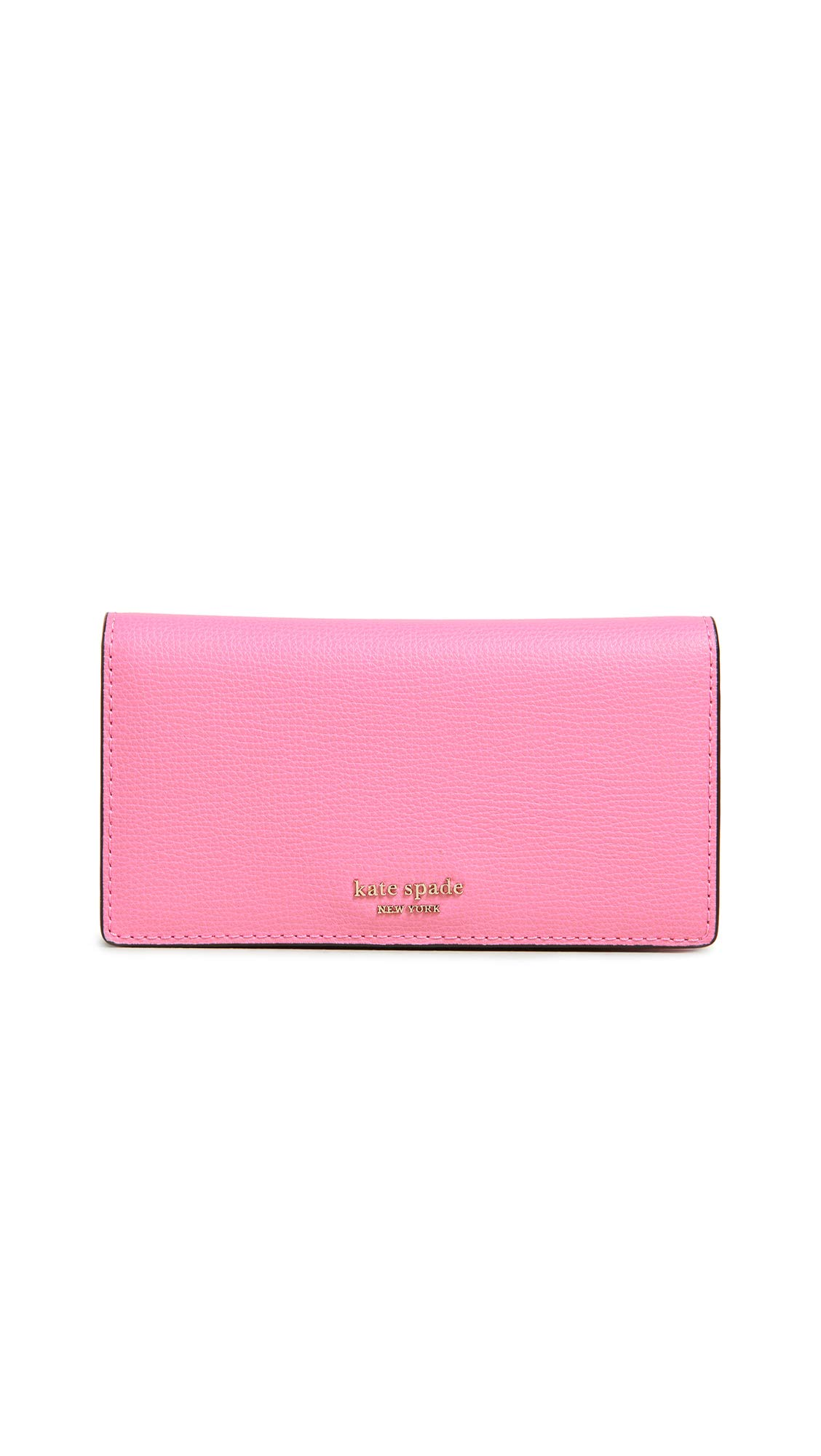 Kate Spade New York Women's Sylvia Medium Bifold With Card Holder, Hibiscus Tea, Pink, One Size by Kate Spade New York