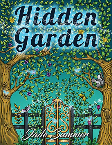 Amazon.com: Hidden Garden: An Adult Coloring Book with Magical ...