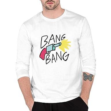 89e860b4ade98 RSDSNN Bang Bang Men's Long Sleeve Cool T-Shirt at Amazon Men's ...