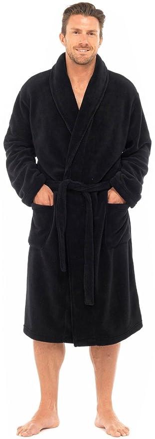 MICHAEL PAUL Men s Luxury Soft Fleece Dressing Gown  Amazon.co.uk  Clothing f9bd99a14