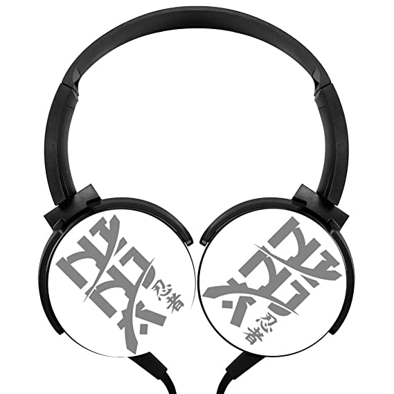 75a5a5ca78e Image Unavailable. Image not available for. Color: PjNnt Ninja Bass Stereo  Wired Headphones Portable ...