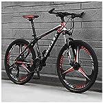 61TebYImDlL. SS150 Bicicletta, Pieghevole Bicicletta Mountain Bike, 26 Pollici 24 velocità Biciclette, Bicicicletta MTB, Assorbimento degli…
