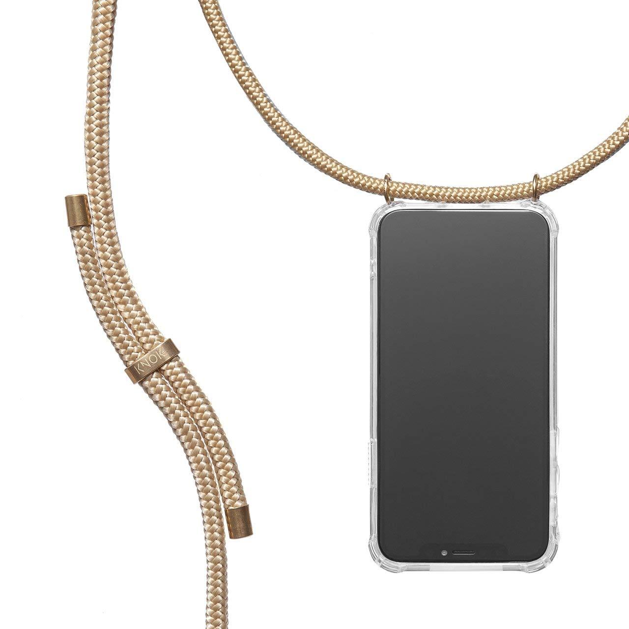con Cordon para Llevar en el Cuello Hecho a Mano en Berlin Case Carcasa de m/óvil iPhone Samsung Huawei con Correa Colgante KNOK Funda Colgante movil con Cuerda para Colgar Huawei P20 Lite