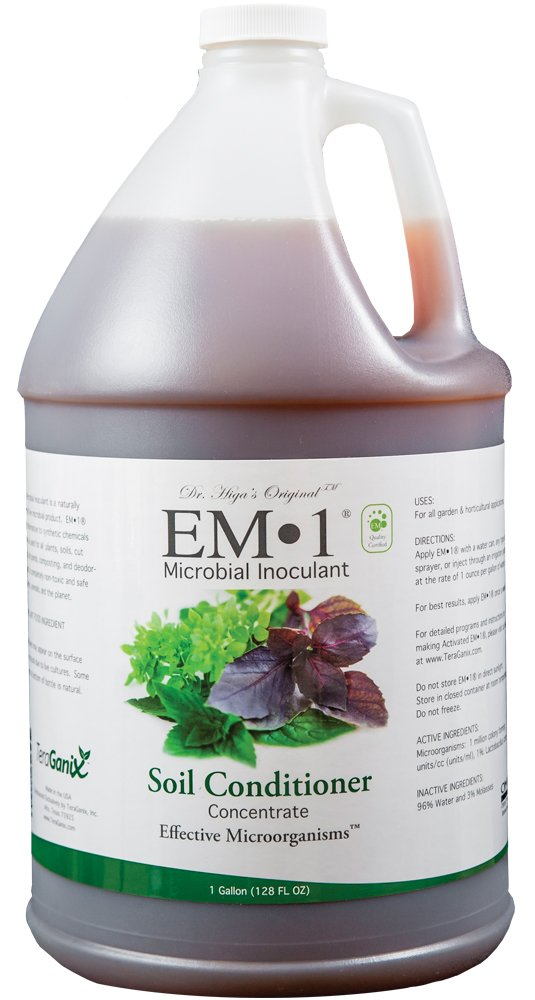 1 Gallon EM-1 Microbial Inoculant by TeraGanix