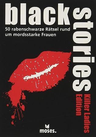 Black Stories Killer Ladies Edition - Juego de 50 muñecos de ajedrez para Mujer: Berger, Nicola: Amazon.es: Juguetes y juegos