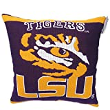 Best DS Bath Pillows - 1 Piece NCAA LSU Tigers Theme Woven Throw Review