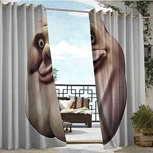 Amazon.com: Outdoor Privacy Curtain for Pergola Humor