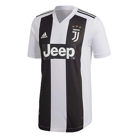 Adidas JUVE H AU JSY - Camiseta 1ª equipación Juventus, Hombre, Negro(Negro