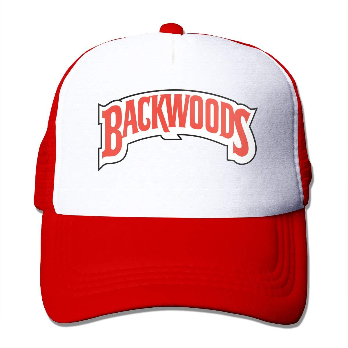 Bigsooyeest Backwood Cigars Logo Unisex Adult Trucker Cap Hat Mesh Back Trucker Hats