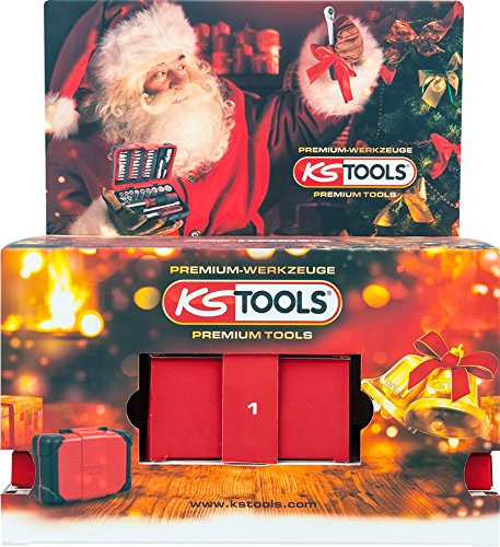 KS Tools 999.5555 Advent Calendar 2017 Professionals Socket Set, Multi-Colour, Set of 44 Pieces