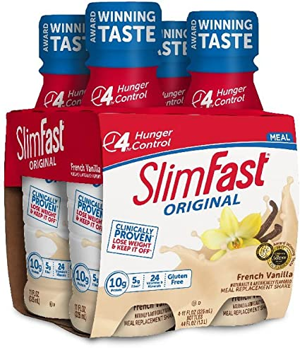 how fast can i lose weight with meal replacement shakes