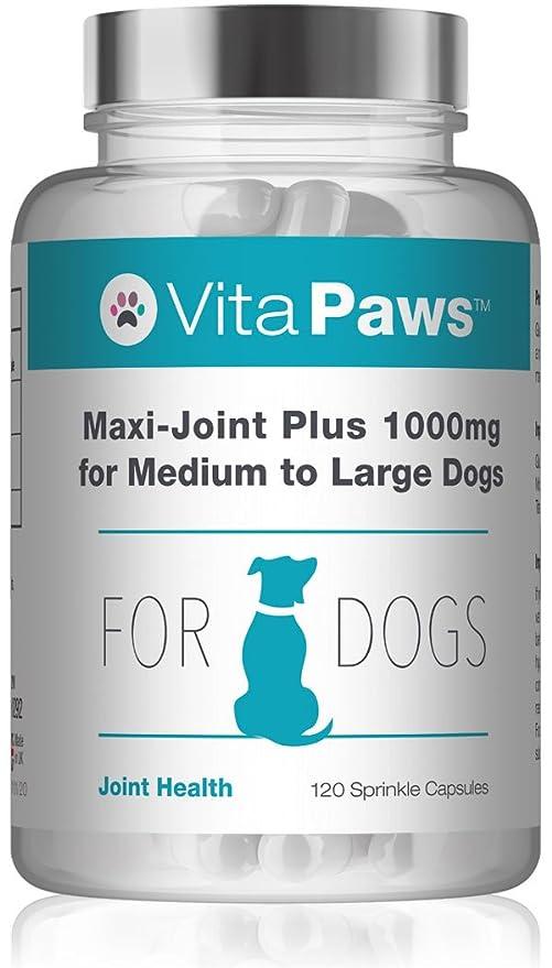 VitaPaws™ Maxi-Joint Plus 1000mg | 120 cápsulas para espolvorear| Para favorecer la