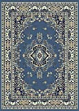 Home Dynamix Premium 7069-310 Country Blue 7-Feet 8-Inch by 10-Feet 4-Inch Traditional Area Rug Picture