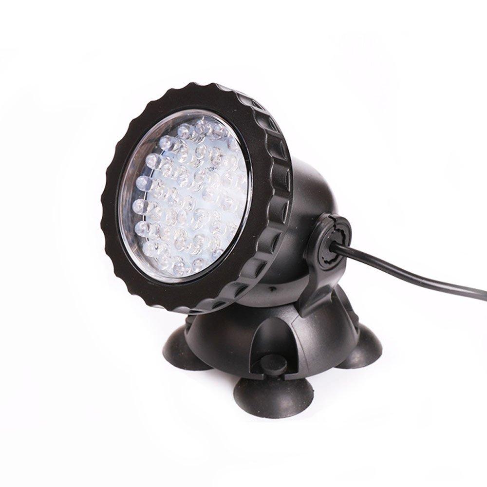 Efanr LED Underwater Spot Light 36 LED Color Changing Submersible Lamp Spotlight for Aquarium Fish Tank Garden Fountain Pond Pool Lighting Decoration