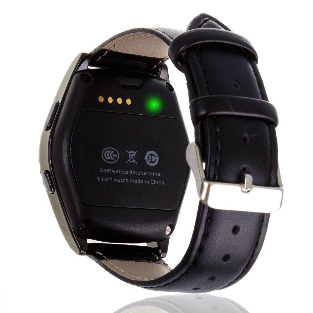 DAM - Smartwatch Bluetooth G4 Black. Posibilidad de tarjeta SIM, tarjeta micro SD hasta 32Gb. Sincronización de SMS, llamadas y notificaciones desde ...