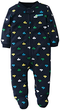 e2ce0a8e2616 Amazon.com  Carter s Baby Boys  Striped Sleep N Play (Baby)  Infant ...