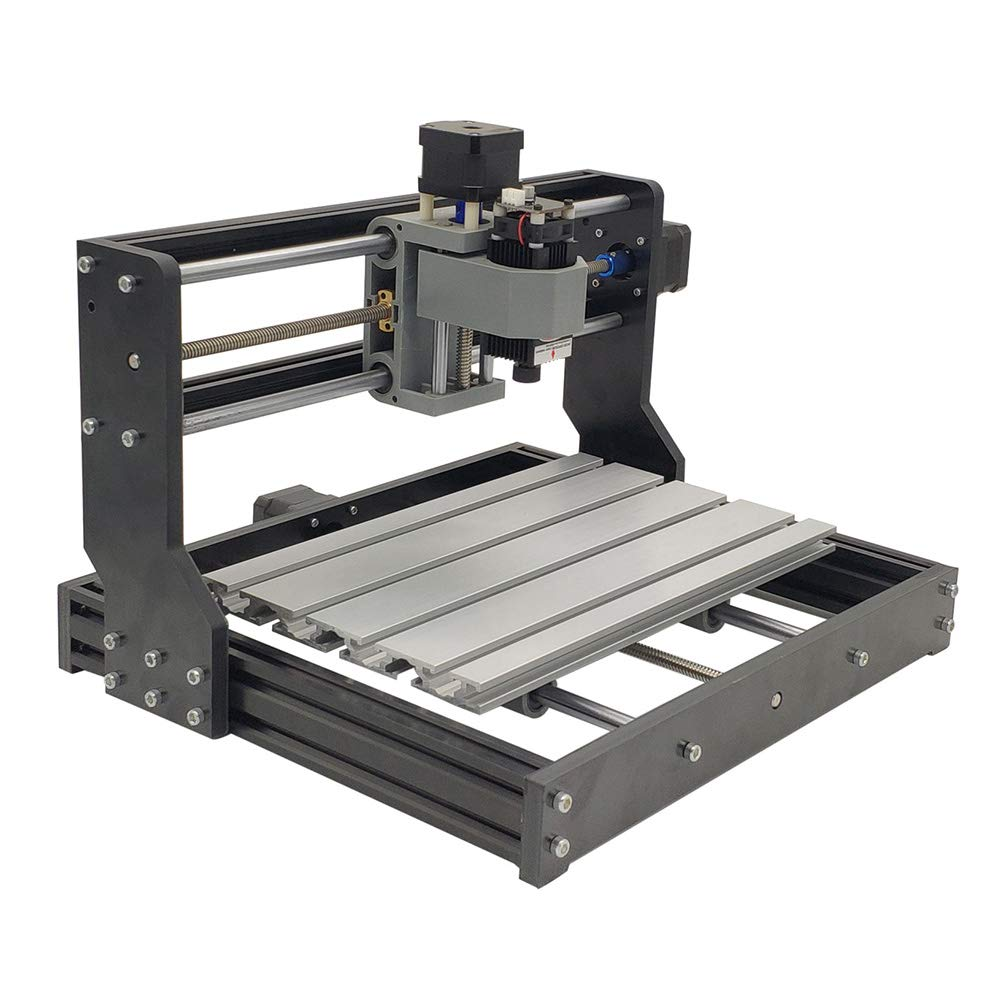 5,5 Watt S SMAUTOP DIY Lasergravurmaschine Mit Brille PWM Control Blau Laser Modul DC 12 V Brennweite Einstellbare Laserkopf