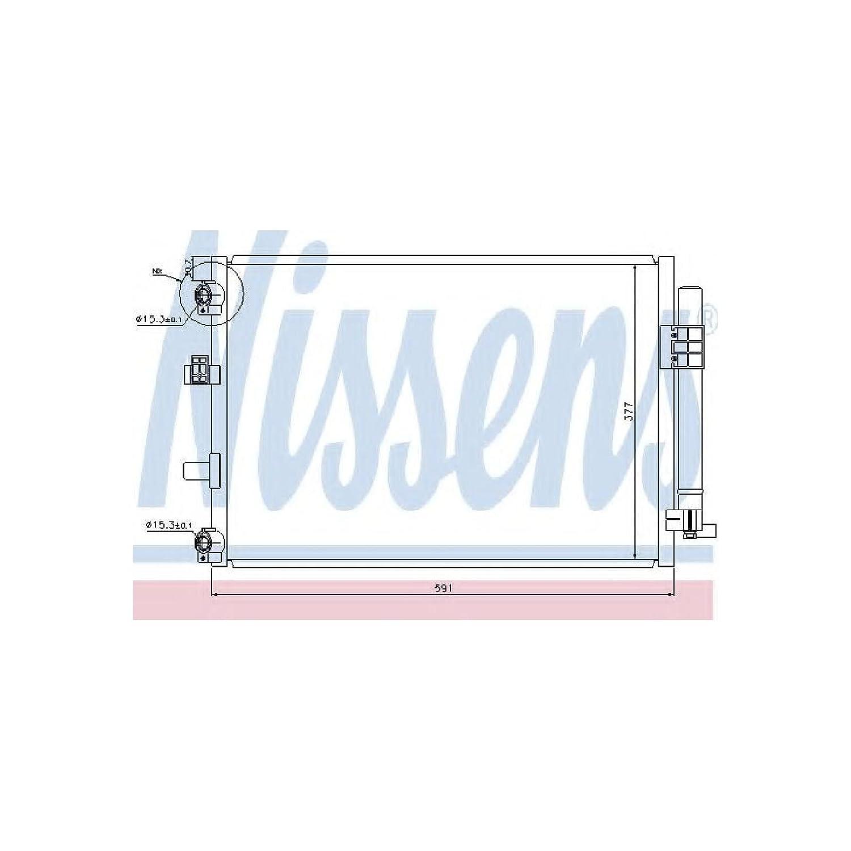 NISSENS 940222 Kondensator Klimaanlage
