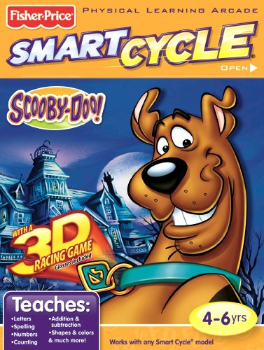 (Fisher-Price Smart Cycle 3D [Old Version] Scooby Doo Software Cartridge)