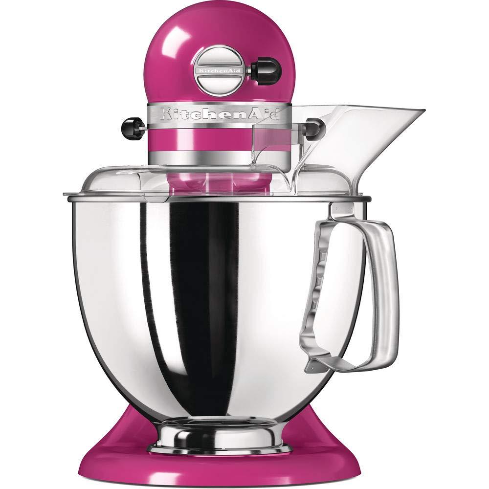 KitchenAid Artisan 300W 4.8L Rosa - Robot de cocina (4,8 L, Rosa, palanca, 220 RPM, 1,454 m, AC): Amazon.es: Hogar