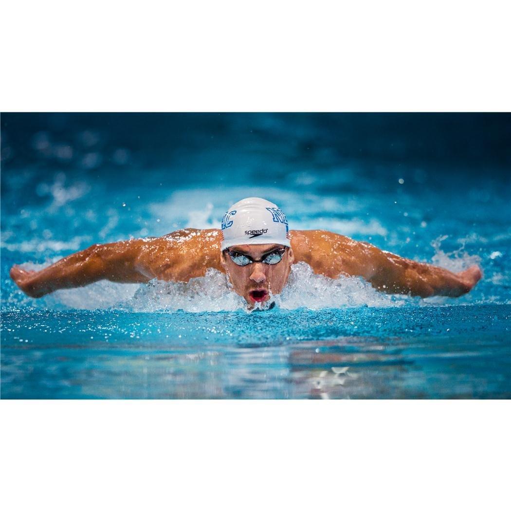 Michael Phelps F0BFDF Silk Print Poster Seide Plakat 43inch x 24inch // 107cm x 60cm