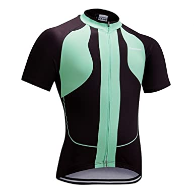 Amazon.com  Runmaner Men s Bike Jersey Cycling Shirt Short Sleeve ... a72ef791b
