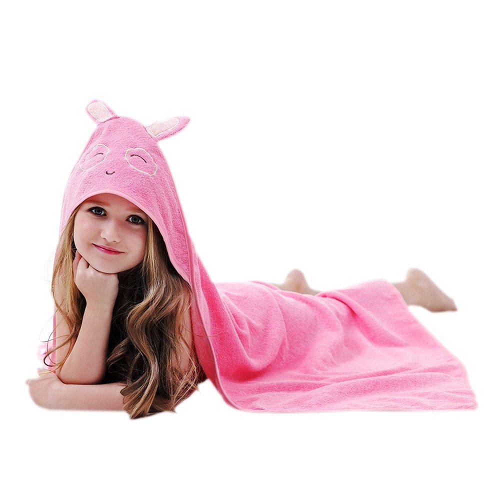 Crazy lin Kids Bath Towel Cotton Bath Towels Cartoon Bathrobes