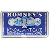 ROMNEY'S OF KENDAL Kendal Mint Cake WHITE 1x 170g / 2.99oz in Special Everest Tin x1